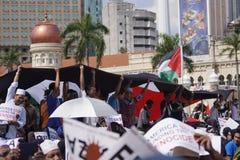 Libertad para GAZA imagen de archivo