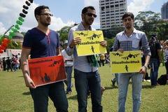 Libertad para GAZA fotografía de archivo libre de regalías