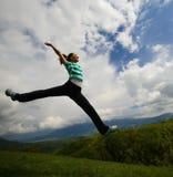 Libertad y felicidad Imagen de archivo libre de regalías
