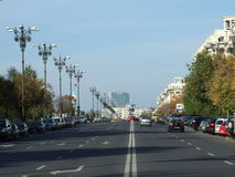 Libertatii Boulevard Royalty Free Stock Images