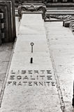 Liberte, Egalite, Fraternite 库存图片