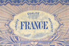 Liberte Egalite Fraternite Royalty Free Stock Images
