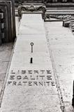 Liberte, Egalite, Fraternite Stock Images
