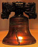 Liberty bell. Miniature liberty bell ornamental figure Royalty Free Stock Photo