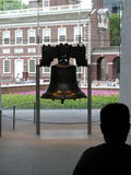 Liberty Bell -. Liberty Bell, historic bell in Independence National Historical Park in Philadelphia Royalty Free Stock Photo