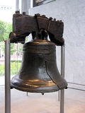 Liberty Bell. Historic bell in Independence National Historical Park in Philadelphia Royalty Free Stock Images