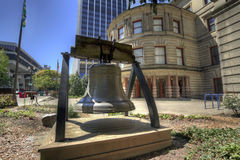 Liberty Bell at City Hall Stock Image