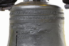 Liberty Bell. In the details Royalty Free Stock Images
