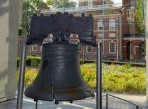 Liberty Bell em Philadelphfia, Pensilvânia Fotos de Stock