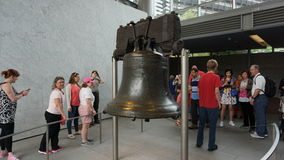 Liberty Bell en Philadelphia fotos de archivo