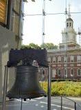 Liberty Bell i Philadelphia, Pennsylvania Royaltyfri Bild