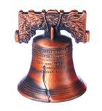 Liberty Bell i Philadelphia, Pennsylvania isolerade Arkivfoto