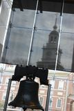 The Liberty Bell and Independence Hall Royalty Free Stock Images