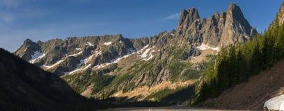 Liberty Bell Mountain Arkivbild