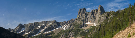 Liberty Bell Mountain Royalty Free Stock Photography