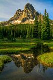Liberty Bell Mountain, Washington State Photo libre de droits