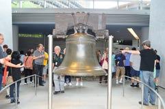 Liberty Bell - parco storico nazionale di indipendenza fotografie stock libere da diritti