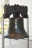 The liberty bell. In philadelphia Royalty Free Stock Images