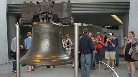The Liberty Bell in Philadelphia Royalty Free Stock Photography