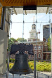 The Liberty Bell in Philadelphia, Pennsylvania Royalty Free Stock Images