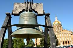 Liberty Bell Replica Imagen de archivo libre de regalías