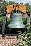 Liberty Bell-reproductie Stock Foto's