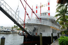 Liberty Belle Cruise in Fort Lauderdale, Florida Royalty Free Stock Photography