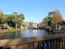 Liberty Belle Ship at Magic Kingdom in the day Royalty Free Stock Photos