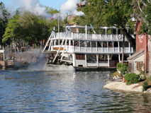 Liberty Belle Ship at Magic Kingdom in the day Stock Images