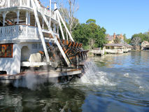 Liberty Belle Ship at Magic Kingdom in the day Stock Photography