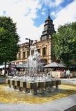 Liberty boulevard - Laisvės aleja in Kaunas. Lithuania Royalty Free Stock Image