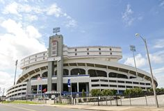 Liberty Bowl Memorial Stadium, Memphis Tennessee Stock Images
