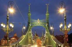Liberty Bridge Arkivbild