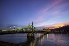 Liberty Bridge Royaltyfri Bild