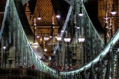 Liberty Bridge Imagenes de archivo