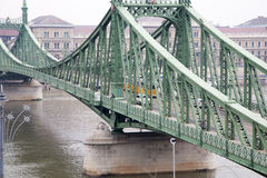 Liberty Bridge-Abschluss Stockbild