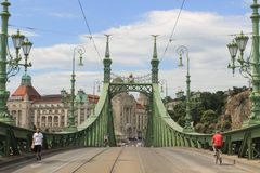 Free Liberty Bridge Budapest Royalty Free Stock Photos - 107426368