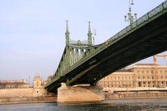Liberty Bridge, Budapest. Stock Images