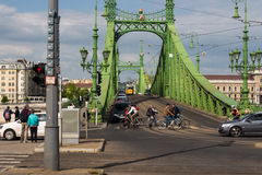 Liberty Bridge Budapest Royalty Free Stock Photography