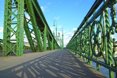 Liberty Bridge Budapest, Hungary Royalty Free Stock Photo