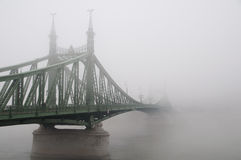 Liberty Bridge in Budapest Royalty Free Stock Images