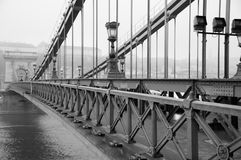 Liberty Bridge in Budapest Stock Image