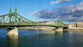 Liberty Bridge in Budapest, Hungary Royalty Free Stock Image