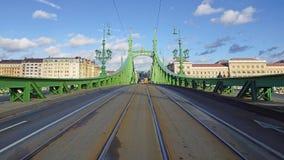 Liberty Bridge in Budapest, Hungary Stock Image
