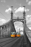 Liberty Bridge in Budapest, Hungary Stock Photography