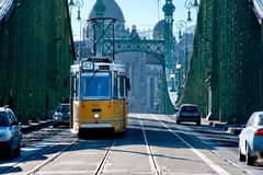 Liberty Bridge of Budapest Stock Image