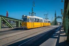 Liberty Bridge in Budapest Stock Photos