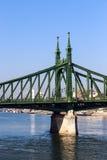 Liberty Bridge in Budapest, Hungary Royalty Free Stock Photography