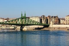 Liberty Bridge in Budapest, Hungary Stock Photography
