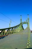 Liberty Bridge in Budapest, Hungary Stock Photos